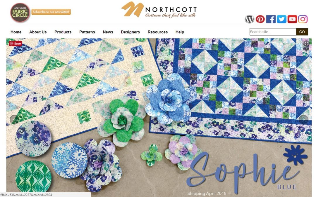 The new Northcott Banyan Batiks are amazing!